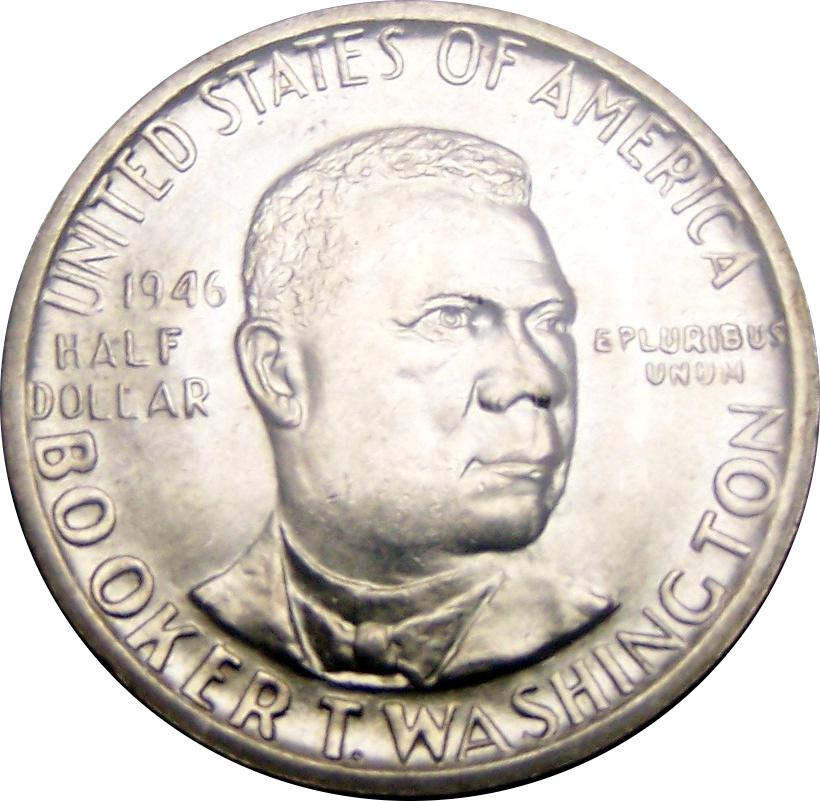 Coin ½ Dollar (Booker T. Washington Memorial) United States of America obverse