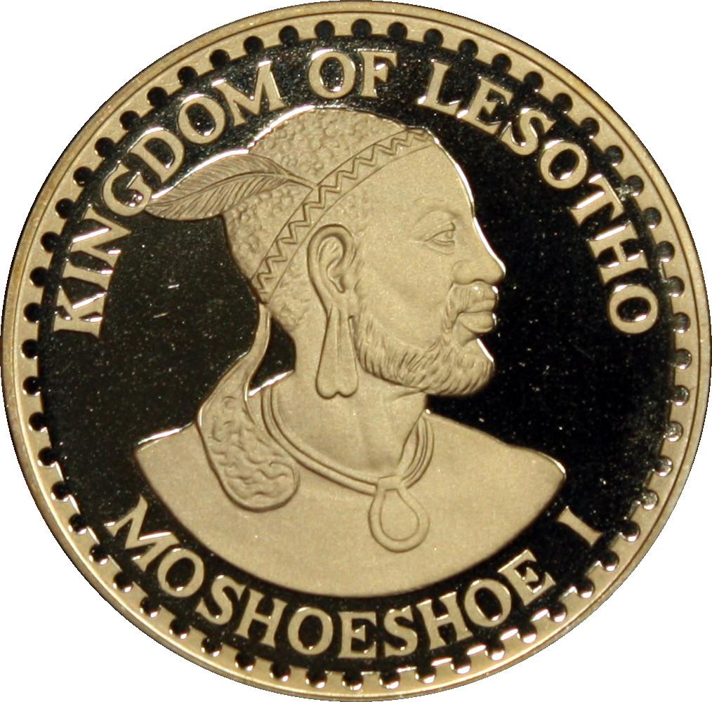 Coin [object Object] Lesotho obverse