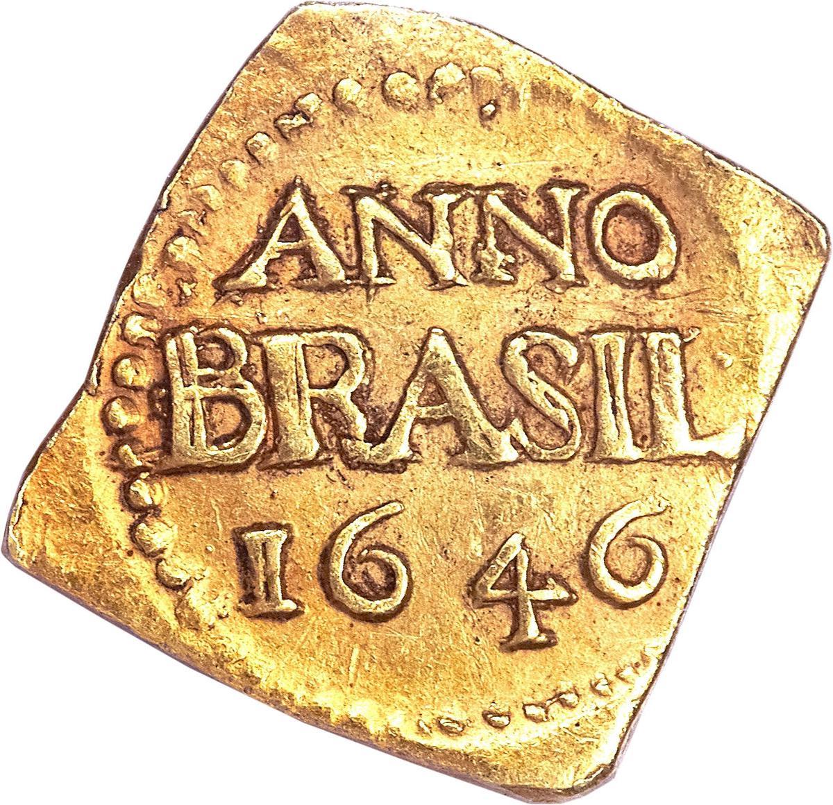 Coin 3 Florins (Geoctroyeerde Westindische Compagnie) New Holland reverse