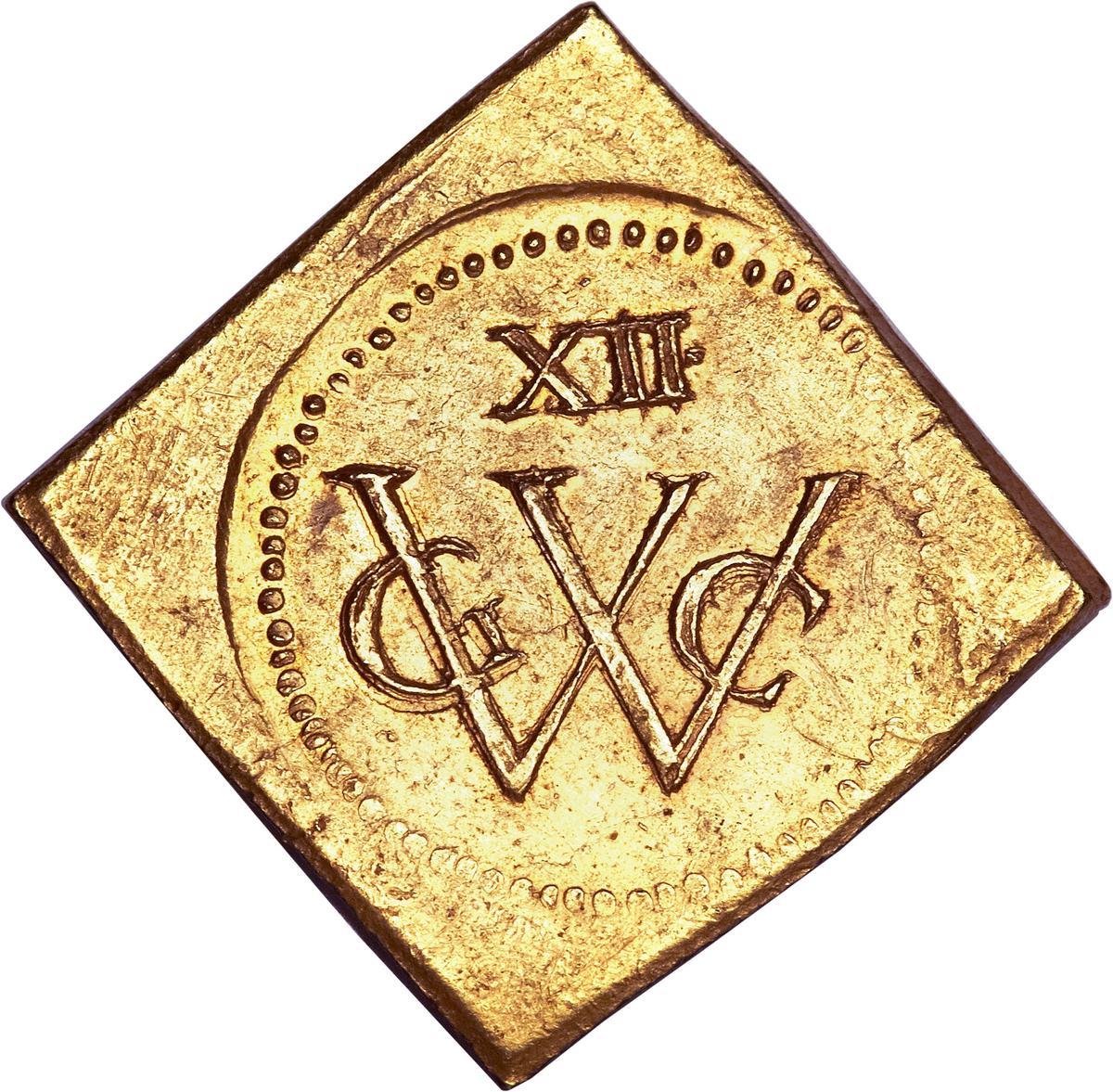 Coin 12 Florins (Geoctroyeerde Westindische Compagnie) New Holland obverse