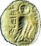 Coin ½ Ma'ah-Obol - Peha Judea reverse