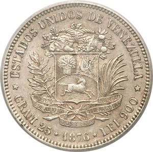 Coin 1 Venezolano Venezuela (Bolivarian Republic of) obverse