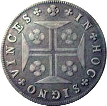 Coin 12 Vinténs - Miguel I Portugal reverse