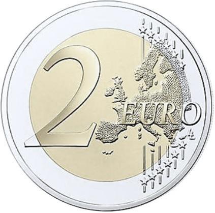 Coin 2 Euro (International Year of Plant Health) Belgium reverse
