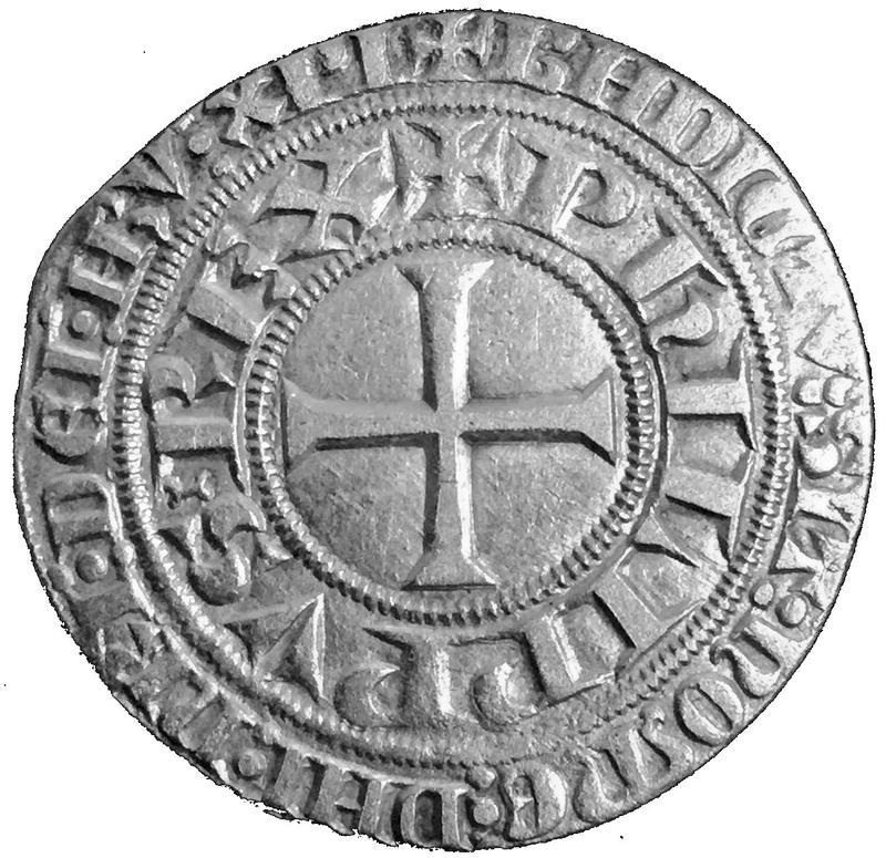 Coin Gros tournois - Philippe V Kingdom of France obverse
