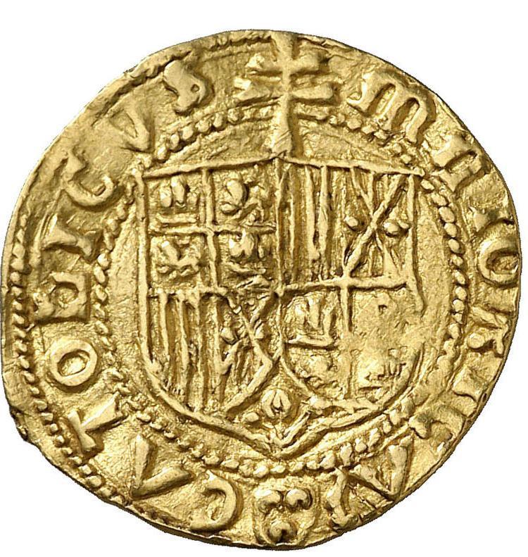 Coin Ducado - Fernando II Kingdom of Majorca reverse