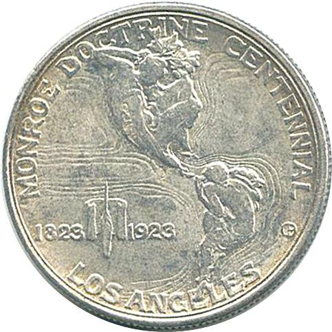 Coin ½ Dollar (Monroe Doctrine Centennial) United States of America reverse