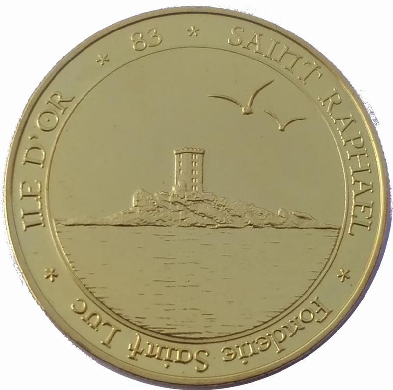Coin Token - Fonderie Saint Luc (Saint Raphaël, île d'Or) France obverse