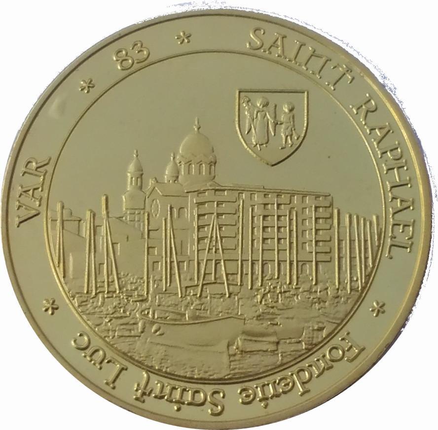 Coin Token - Fonderie Saint Luc (Saint Raphaël, île d'Or) France reverse