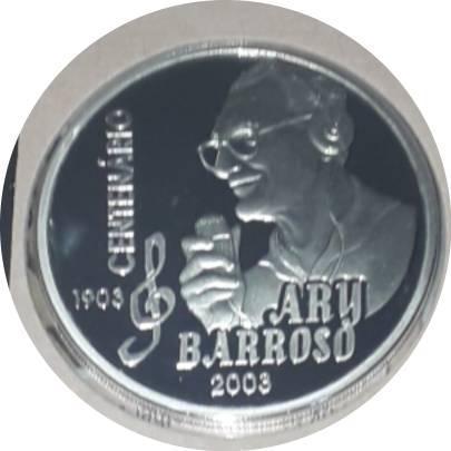 Coin 2 Reais (Ary Barroso) Brazil obverse