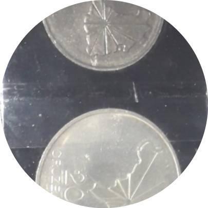 Coin 20 Cruzeiros (150th Anniversary of Independence) NO ESTOJO Brazil obverse