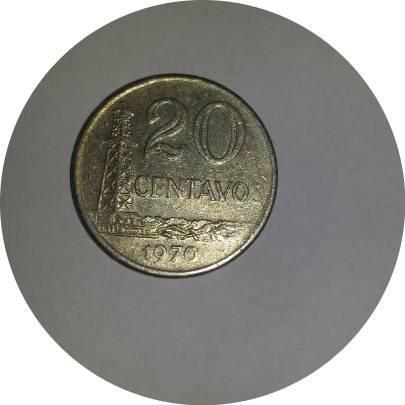 Coin 20 Centavos Brazil obverse