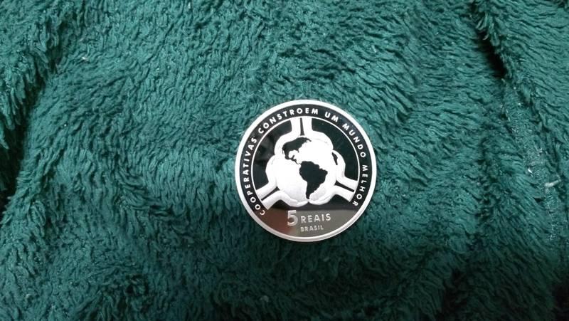Coin 5 Reais (Cooperatives) Brazil reverse