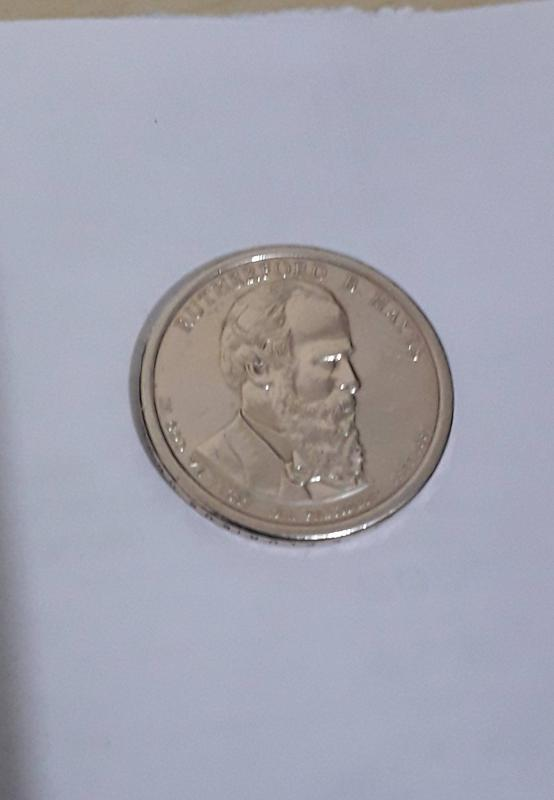 Coin 1 Dollar (Rutherford B. Hayes) United States of America obverse