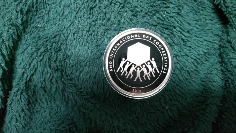 Coin 5 Reais (Cooperatives) Brazil obverse