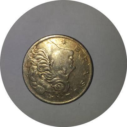 Coin 20 Centavos Brazil reverse