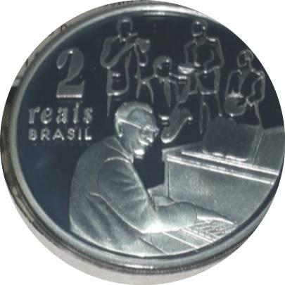 Coin 2 Reais (Ary Barroso) Brazil reverse