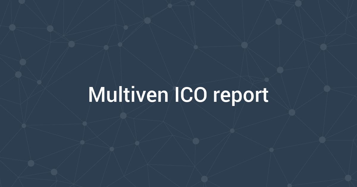 Multiven ICO report