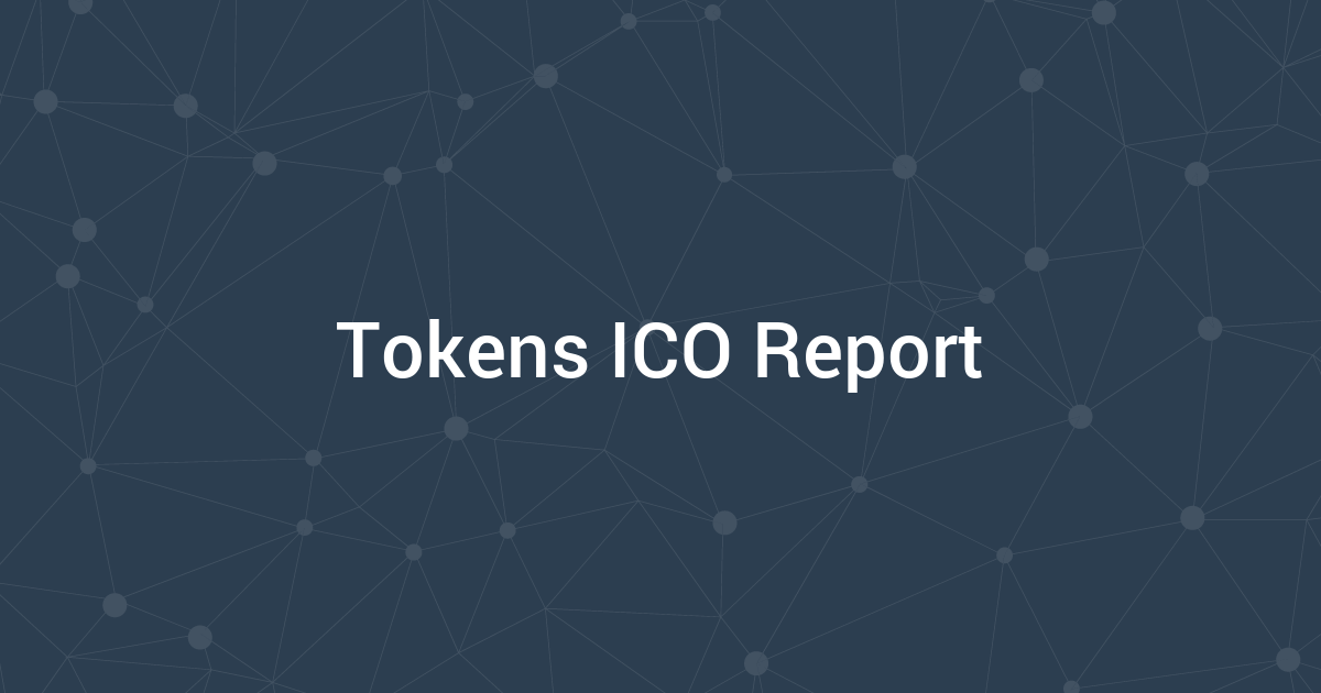 Tokens ICO Report