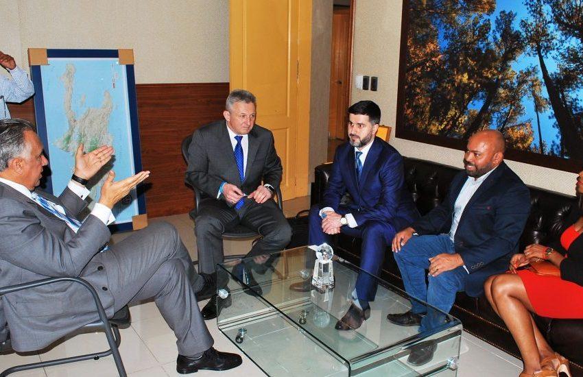 Presidente del COD recibe representantes de la Federación Internacional Sambo