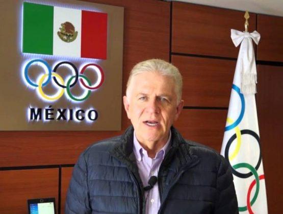 Presidente de Comité Olímpico Mexicano cree que al país le irá bien en Tokio