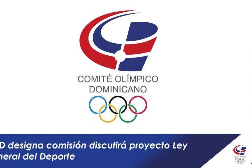 COD designa comisión discutirá proyecto Ley General del Deporte