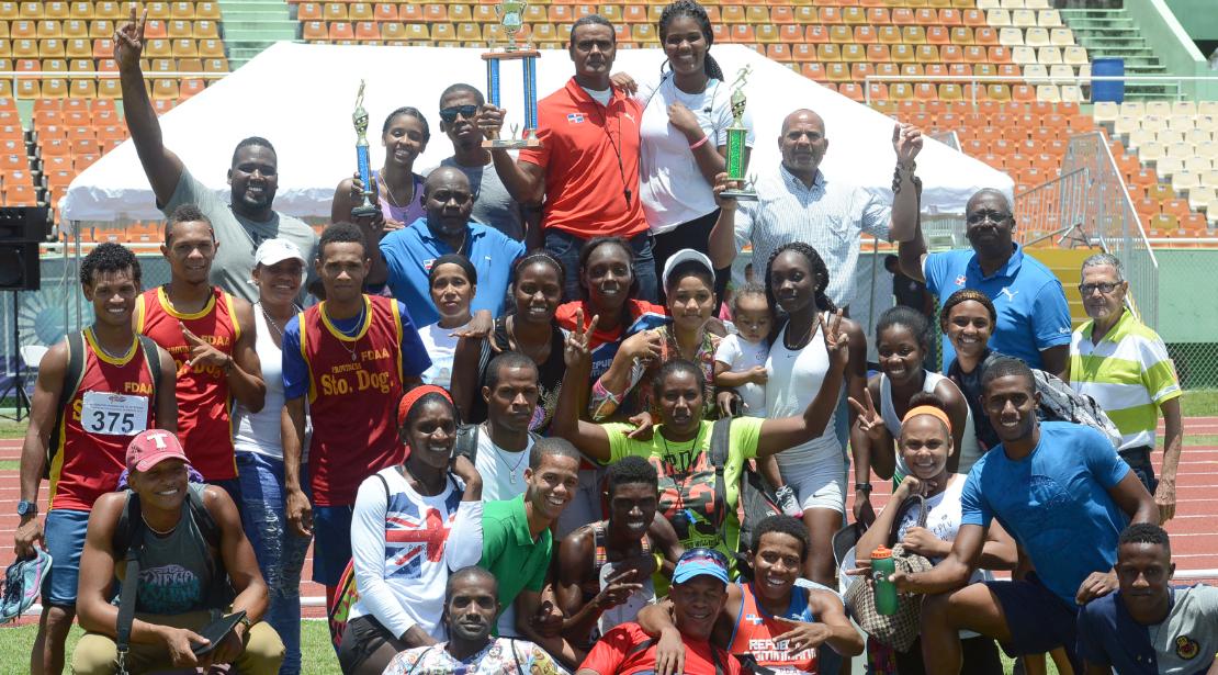 San Pedro de Macorís regresa  al tope del atletismo nacional