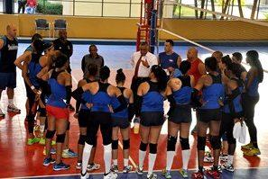"""Las """"Reinas del Caribe"""" estrenan Albergue Olímpico"""