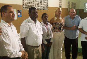 Agisapema distingue a gimnasta Yamilet