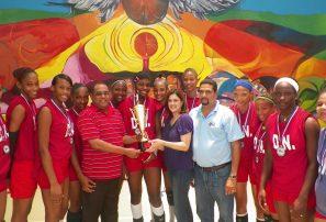 Distrito Nacional, campeón voleibol infantil