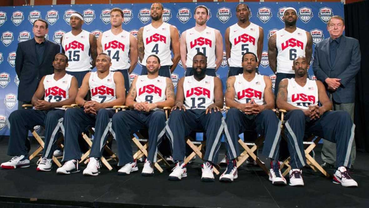 EEUU presenta jugadores basket Olímpico 2012
