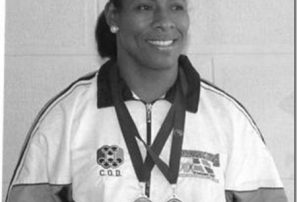 Dulce María Piña, pionera en el judo