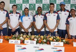 Uruguay y RD confían en avance Grupo I Copa Davis