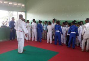 Comisión técnica Fedojudo visita técnica en Bayaguana
