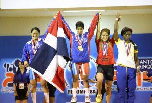 Pesistas RD suman seis medallas inicio Panamericano