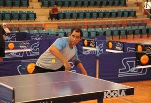 Florimón, Vila y Cabrera triunfan en tenis de mesa