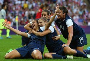 Estados Unidos triunfa en fútbol JJ.OO