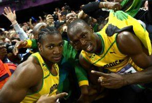 Bolt y Blake avanzan a final de los 200 M