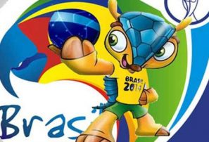 Mascota de Brasil 2014 será un armadillo