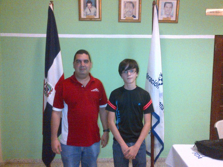 Nieto y Vásquez se coronan en ajedrez infantil
