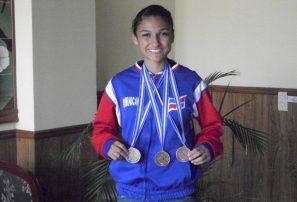 Chalas y Panisse ganan cuatro oro en El Salvador
