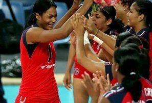 Voleibol RD supera a Holanda torneo internacional
