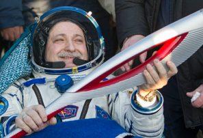 Antorcha Olímpica de Sochi regresa del espacio