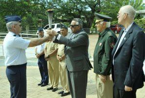 COD acoge penúltima parada fuego Juegos Militares