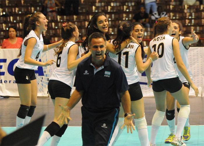 RD cayó ante Argentina en final Copa Panam Sub-18