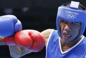 Púgil Arias, eliminado en Juegos Olímpicos