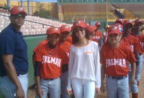 Palmar saca dos triunfos en béisbol RBI Santiago