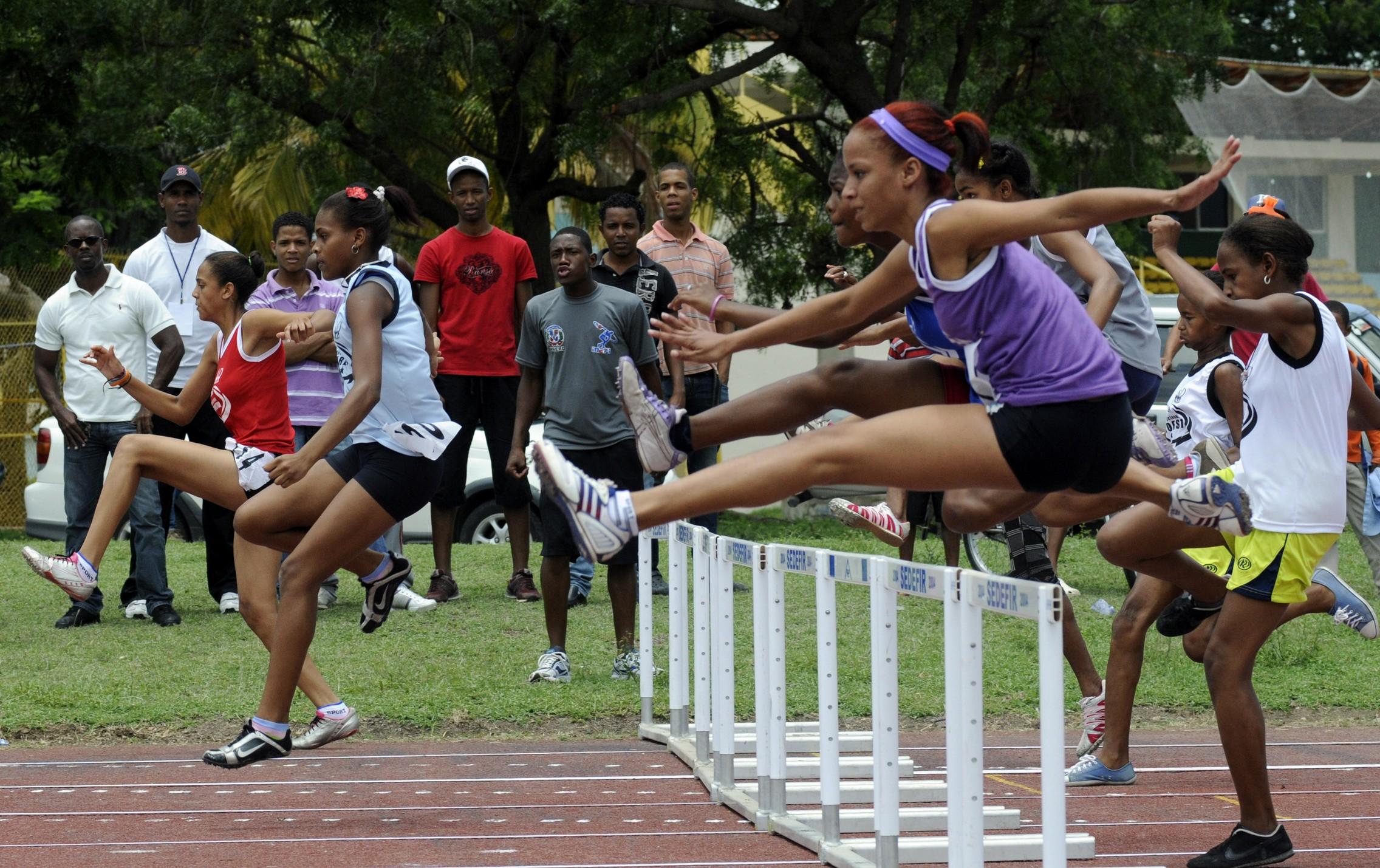Zonas doradas en atletismo Juegos Escolares