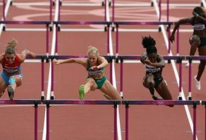Idetlle quedó fuera en los 100 metros con vallas