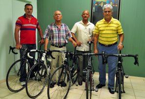 La UCI hace donación de bicicletas a Fedoci